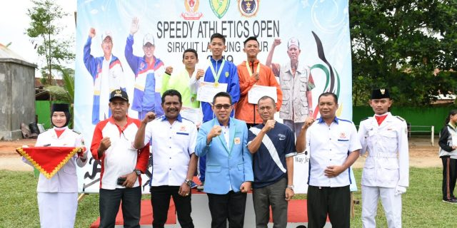 Zaiful Bokhari Buka Speedy Athletics Open Sirkuit Lampung Timur ke I