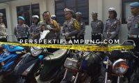 Polres Lamtim Amankan 17 Sepeda Motor Bodong