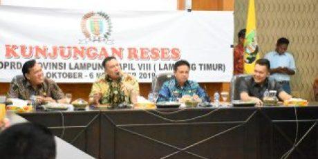 Syahrudin Minta DPRD Provinsi Lampung Promosikan Potensi Wisata Lamtim