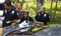 Polres Lamtim dan TNI Kompak Tes Urine Pemgemudi Truk