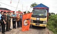 KPU Lamtim Distribusikan Logistik Pilgub Lampung
