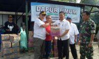 Ketua DPRD Lamtim Salurkan Bantuan Banjir Di Desa Tanjungtirto