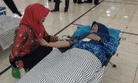 ASN Lamtim Donor Darah Dalam Rangka HUT Korpri ke 47