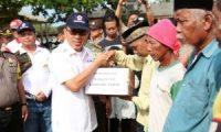 Pemkab Lamtim dan Forkopimda Salurkan Bantuan Bagi Korban Banjir