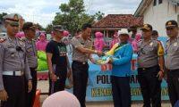 Polres Lamtim dan Bhayangkari Gelar Bhakti Sosial di Desa Tanjungtirto