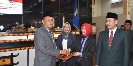 DPRD Metro Beri Rekomendasi Atas LKPj 2017