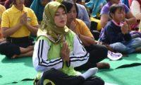 Nunik : Yoga Dapat Tingkatkan Level Kebahagiaan