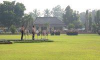 Kapolda Lampung Pimpin Apel Tiga Pilar Kamtibmas di Lamtim