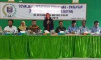 DPRD Kota Metro Sosialisasi Perda