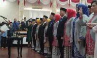 Dua Puluh Empat Anggota DPRD Kota Metro Hasil Pemilu 2019 Dilantik