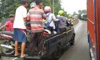 Polres Lamteng Larang Pungli Yang Manfaatkan Banjir