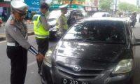 Operasi Zebra Hari Pertama, Polisi Jaring 63 Pelanggar