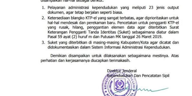 Pembuatan KTP El Di Lampung Timur Terhambat Akibat Pembatasan Blangko