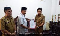 Ali Johan Arif Kembali Jabat Ketua DPRD Lampung Timur