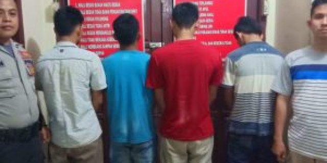 Konsumsi Narkoba, Empat Pemuda Lamtim Berurusan dengan Polisi