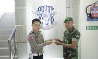 HUT TNI, Satlantas Lamtim Beri Layanan Perpanjangan Smart SIM Gratis Bagi TNI