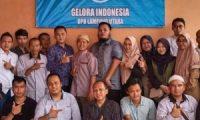 Terbentuk, Kepengurusan Kecamatan Partai Gelora se-Lampura