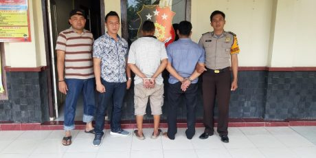 Polsek Batanghari Amankan Penadan Hasil Pencurian Motor Di Pos Penjualan  Motor PT BMJ Batanghari
