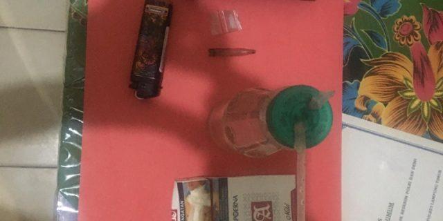Polsek Labuhan Maringgai Amankan Pengguna Narkoba