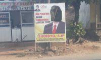 Banner Dirusak, Sudibyo Akan Lapor Bawaslu