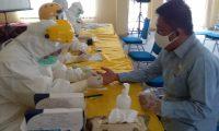 Pasca Terkonfirmasi Covid-19, Anggota Dan Staff DPRD Lamtim Menjalani Rapid Test