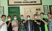 Jalin Sinergitas, Pijar Keadilan Silaturahmi ke Kodim 0429/Lamtim