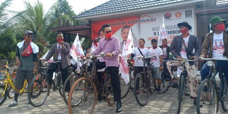Komunitas Sepeda Onthel Dan Minion Dukung Zaiful Bokhari – Sudibyo