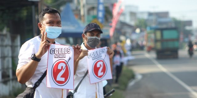 PKS Kampanye Flashmob Kenalkan Program Kerja Zaiful Bokhari-Sudibyo