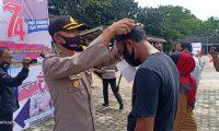 Hari Bhayangkara, Satpas 2534 Satlantas Polres Lamtim Beri Layanan Khusus
