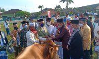 Zaiful Bokhari Menjadi Imam Sholat Ied Di Sekampung