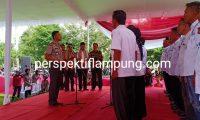 Kapolres Lamtim Lantik Pengurus Pokdar Kantibmas Lampung Timur