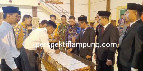 KPU Lampung Timur Lantik 120 Anggota PPK