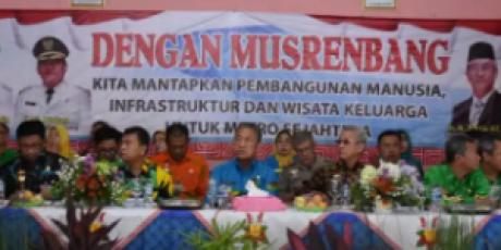 Musrenbang Kecamatan Metro Selatan, Prioritas Pembangunan Semua Bidang