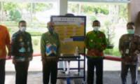 Pemkot Metro Terima Bantuan Alat Cuci Tangan dari Organisasi SNV