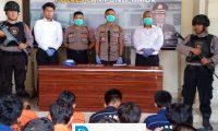 OPS Antik, Polres Lampung Timur Ungkap 23 Tersangka Dari 19 Kasus