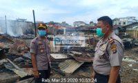 Hydrant Tidak Berfungsi, Ratusan Kios Pasar Wayjepara Ludes Terbakar
