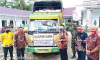 Pemkab Lamtim Distribusikan Bantuan Sembako Tanggap Darurat Covid-19