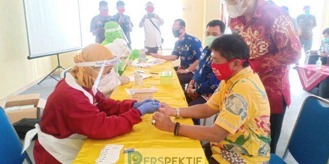 ASN Lamtim Asal Bandar Lampung Lakukan Rapid Tes