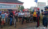 Zaiful Bokhari Lepas Peserta Sepeda Santai HUT RI ke 75 Di Desa Hargomulyo