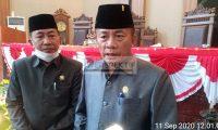 DPRD Lamtim Umumkan Pengunduran Diri Yusran Amirullah Dan Sudibyo