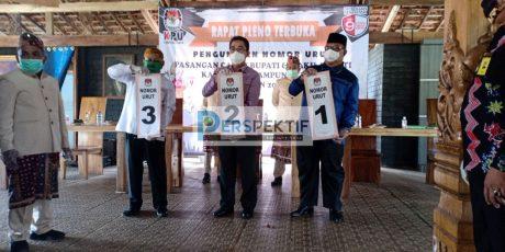 Ini Nomor Urut Pasangan Calon Di Lampung Timur