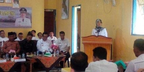 Chusnunia Pamit Ke Warga Kecamatan Sekampung Untuk Maju Sebagai Wakil Gubernur Lampung