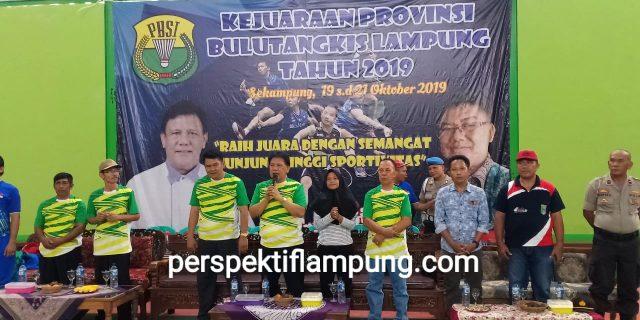 Ketua PBSI Lampung Garansi Atlit Bulutangkis Magang Berlatih Di Pelatnas