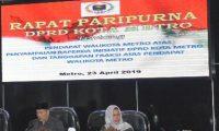 Dewan Gelar Rapat Paripurna, Pembahasan Raperda Inisiatif